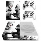 Batman and Joker decal skin sticker for Xbox One S console and controllers