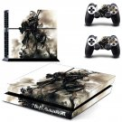 Nier Automata decal skin sticker for PS4 console and controllers
