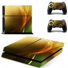 Abstract decal skin sticker for PS4 console and controllers