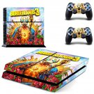 Borderlands 2 decal skin sticker for PS4 console and controllers