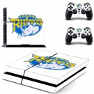 Leeds Rhinos decal skin sticker for PS4 console and controllers