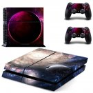 Planet Abstract decal skin sticker for PS4 console and controllers