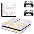 Cinnamoroll decal skin sticker for PS4 console and controllers
