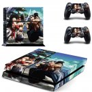 Samurai Shodown decal skin sticker for PS4 console and controllers