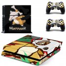 Pokemon marowak decal skin sticker for PS4 console and controllers