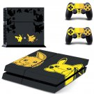 Pokemon Pikachu decal skin sticker for PS4 console and controllers