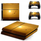 Dusk decal skin sticker for PS4 console and controllers