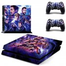 Avengers decal skin sticker for PS4 console and controllers