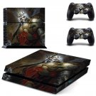 Diablo 3 decal skin sticker for PS4 console and controllers
