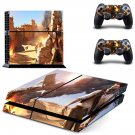 Uncharted 3 decal skin sticker for PS4 console and controllers