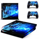 Nike decal skin sticker for PS4 console and controllers