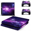 Space Abstract decal skin sticker for PS4 console and controllers