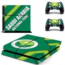SA National Team decal skin sticker for PS4 console and controllers