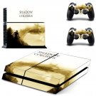 Shadow of the Colossus decal skin sticker for PS4 console and controllers
