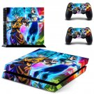 Dragon Ball decal skin sticker for PS4 console and controllers