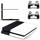 PS4 Abstract decal skin sticker for PS4 console and controllers