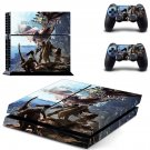 Monster Hunter World decal skin sticker for PS4 console and controllers