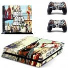 Greand Theft Auto 5 decal skin sticker for PS4 console and controllers