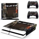 The Last of US decal skin sticker for PS4 console and controllers