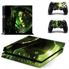 Alien Solation decal skin sticker for PS4 console and controllers