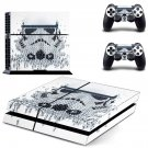 Stormtrooper decal skin sticker for PS4 console and controllers