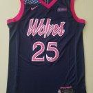 Men's Minnesota Timberwolves Derrick Rose #25 Basketball Jersey City Edition