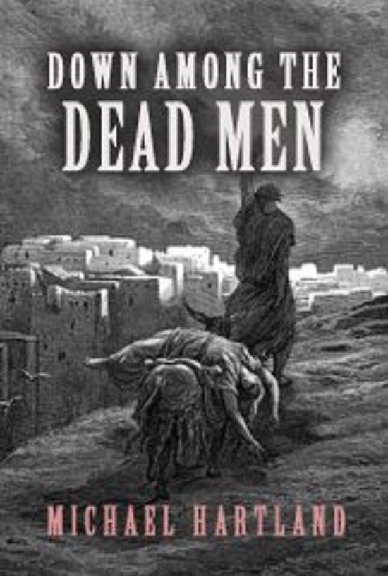 Audiobook DOWN AMONG THE DEAD MEN by Michael Hartland no CD MP3