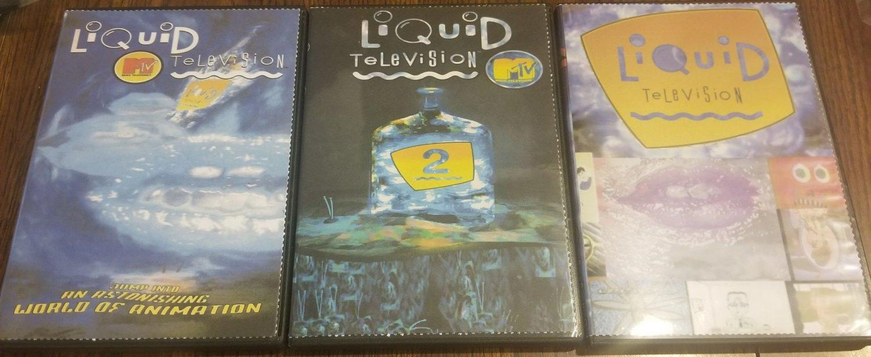 MTV's Liquid Television Complete Series MTV DVD Set + Bonus