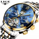 Mens Watch Luxury Automatic Mechanical Watch Waterproof Sport Wactch
