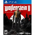 Wolfenstein II: The New Colossus - PlayStation 4 | Brand New | Sealed