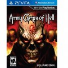 Army Corps of Hell - PlayStation Vita | Brand New | Sealed