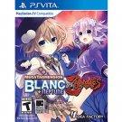 MegaTagmension Blanc + Neptune VS Zombies - PlayStation Vita | Brand New | Sealed