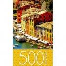 500 Piece Jigsaw Puzzle: Portofino Italy