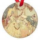 Edmund Dulac Cinderella Porcelain Ornaments