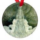Edmund Dulac Snow Queen Porcelain Ornaments