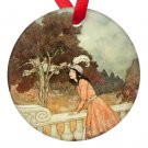 Edmund Dulac Beauty and the Beast Porcelain Ornaments