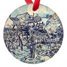 Vincent Van Gogh Art Porcelain Ornaments