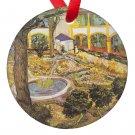 Vincent Van Gogh Art Hospital in Arles Porcelain Ornaments
