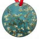 Vincent Van Gogh Art Almond Blossoms Porcelain Ornaments