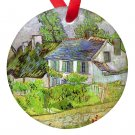 Vincent Van Gogh Art  Cottage Porcelain Ornaments
