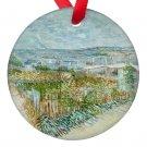 Vincent Van Gogh Art Landscape Porcelain Ornaments