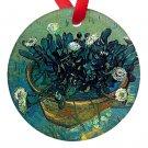 Vincent Van Gogh Art Irises Porcelain Ornaments