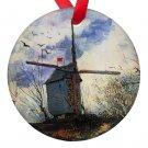 Vincent Van Gogh Art Windmill Porcelain Ornaments