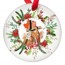Alice in Wonderland  Red Queen Single Sided Porcelain Ornaments