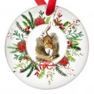 Alice in Wonderland White Rabbit Single Sided Porcelain Ornaments