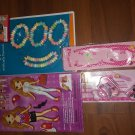 girl 5pc gift bag including paper dolls and more very nice must see look