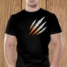 Claw Marks T-shirt, White Scratches T-shirt, Wolverine, Animal Scratches, Torn T-shirt