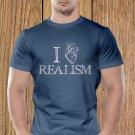 Love Realism T-shirt, Heart, Sarcasm, Funny (c)
