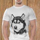 Wolf T-shirt, Wild T-shirt, Wolf Sketch T-shirt, Wolf Drawing T-shirt (a)