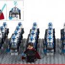 Star Wars Commander Appo Trooper Anakin Skywalker Clone Trooper Lego Minifigures Fit Toy